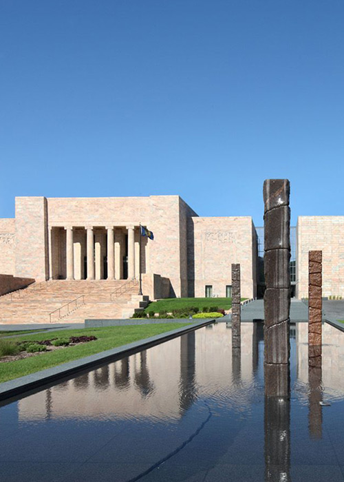 Joslyn Art Museum, Omaha, NE; Photo courtesy Joslyn Art Museum