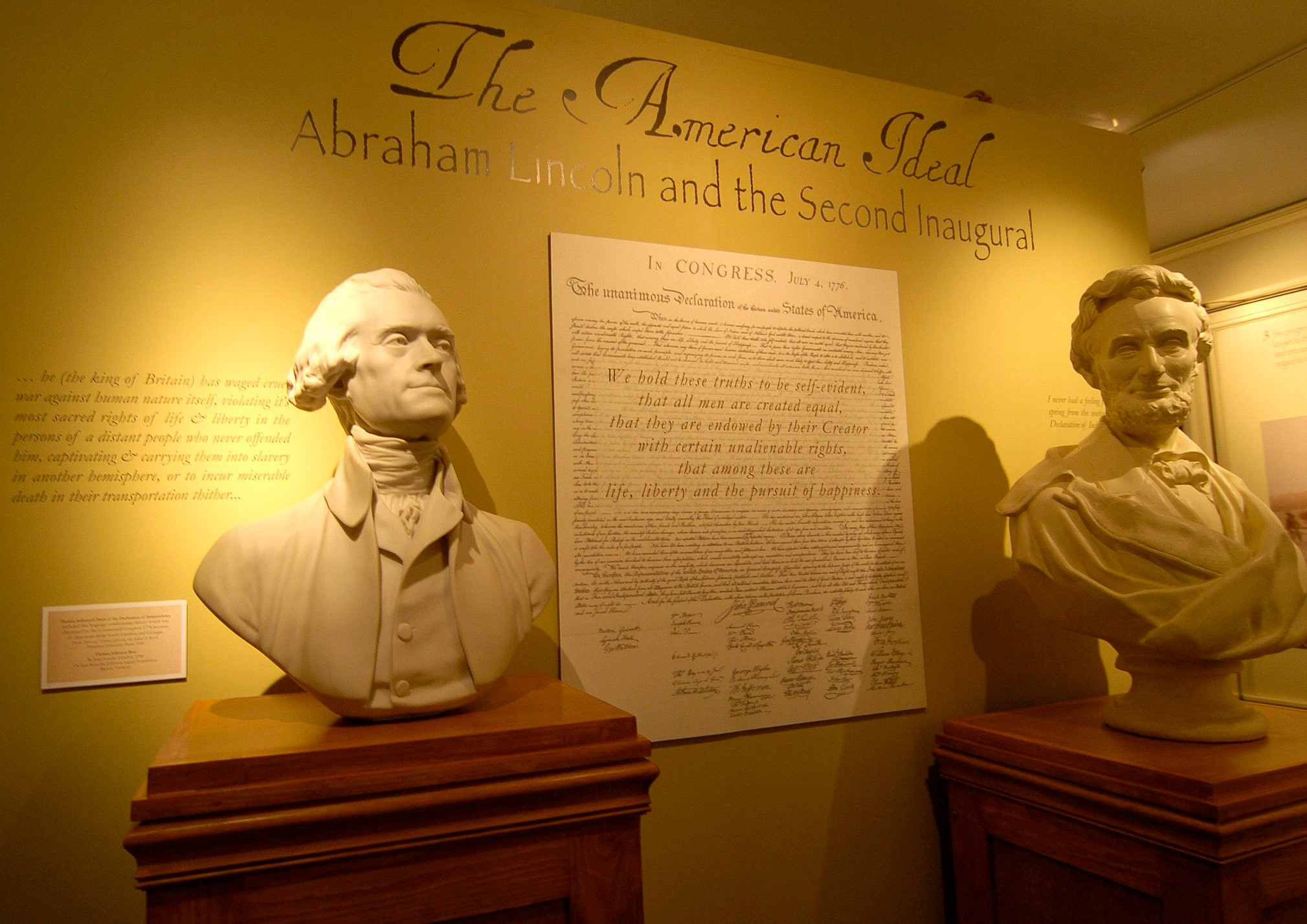 The American Ideal: Abraham Lincoln and the Second Inaugural