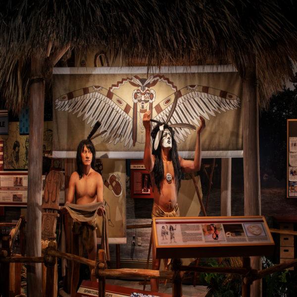 Marco-Island-History-Museum-Calusa-Exhibit-Spirituality-Display-1.jpg