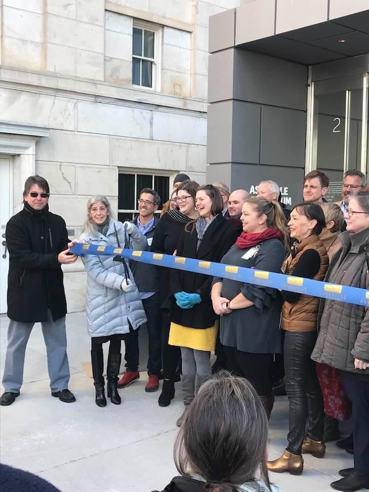 Asheville Art Museum Opens to Public