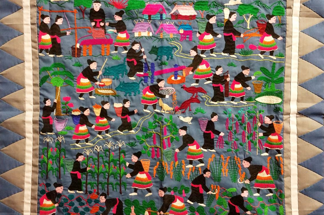 Embroidered Stories: Hmong Fiber Arts