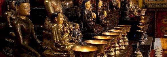 Experience the Tibetan Buddhist Shrine Room