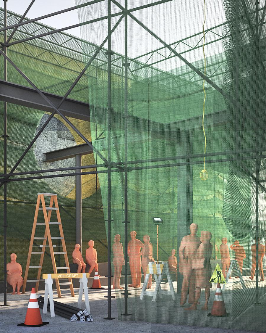 Courtyard 2020: Veil Craft