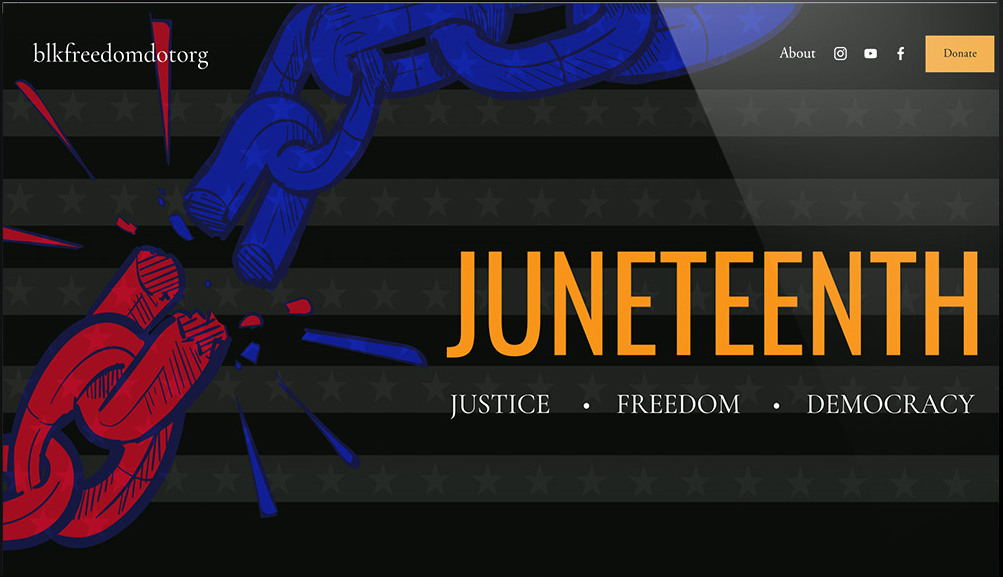 Celebrate Juneteenth with BLKFREEDOM.org
