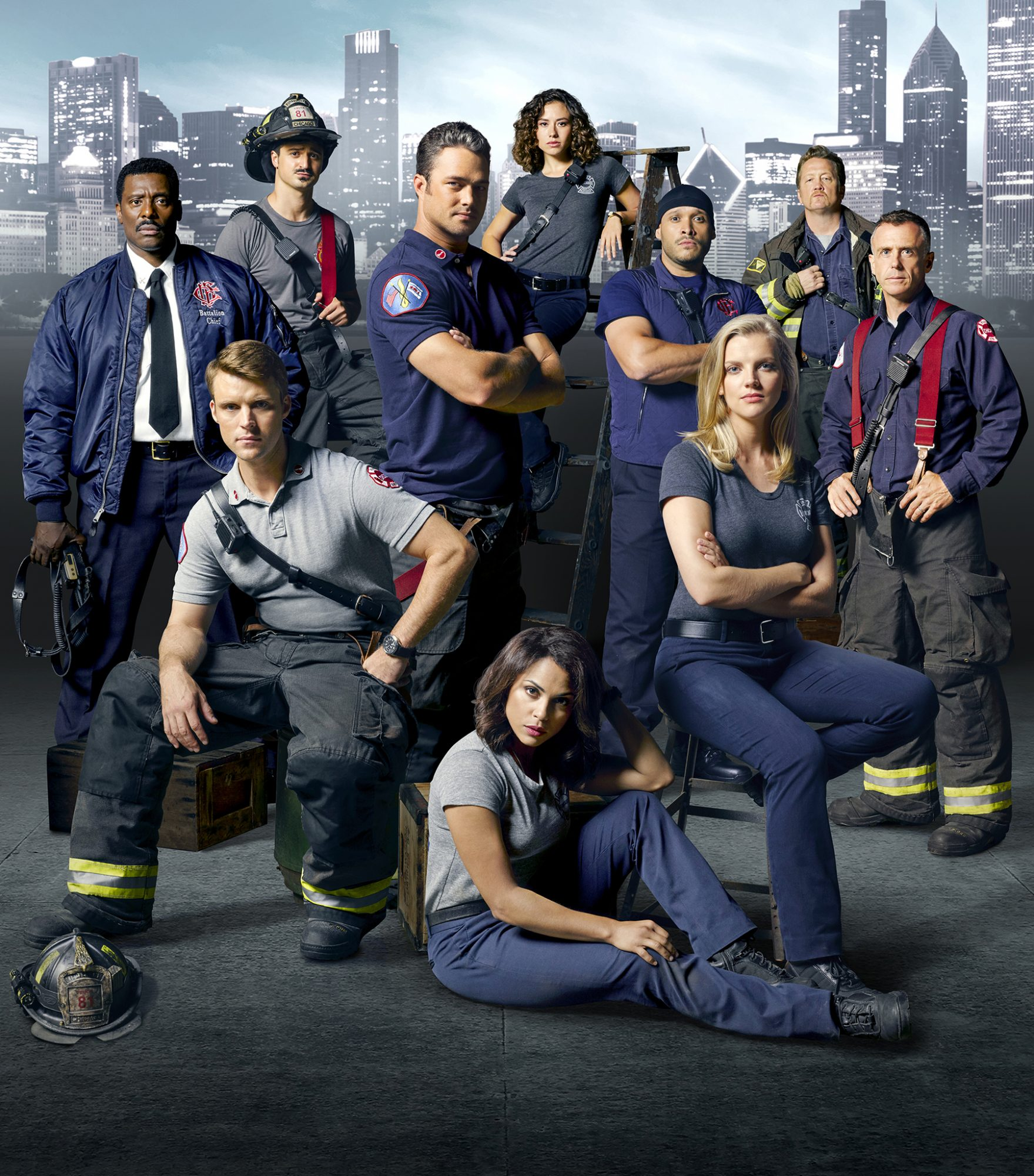 The Hero's Tale…Artifacts from the NBCUniversal Drama Chicago Fire
