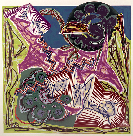 Frank Stella: Illustrations after El Lissitzky's Had Gadya from the Collection of BNY Mellon