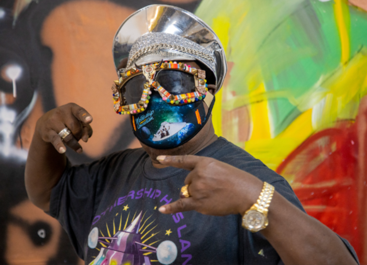 Live Virtual Art Talk: George Clinton in Conversation with Franklin Sirmans