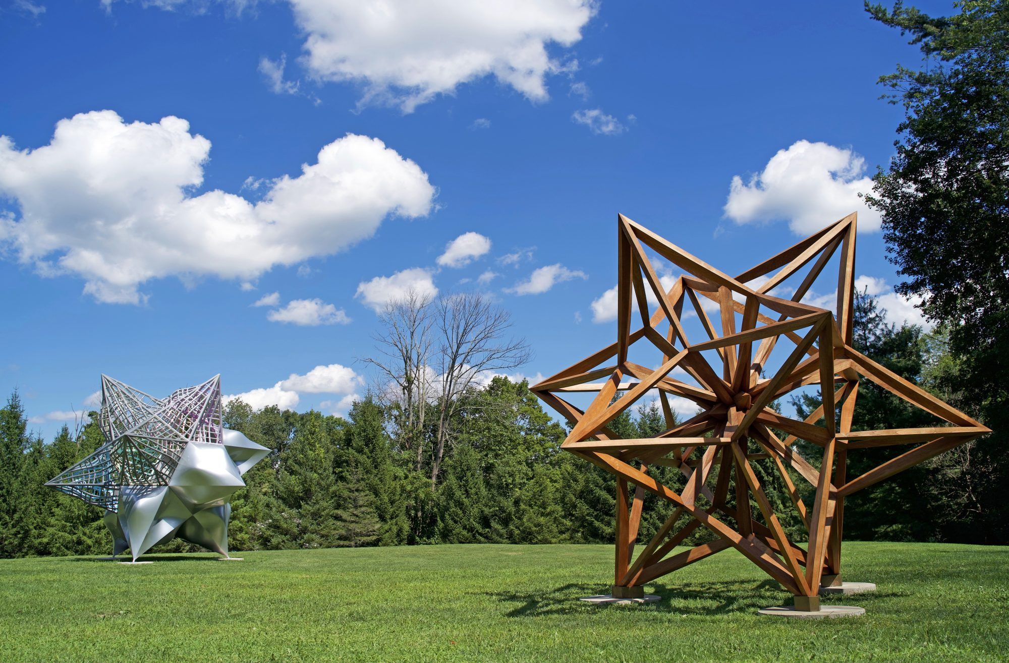 Frank Stella's Stars, A Survey