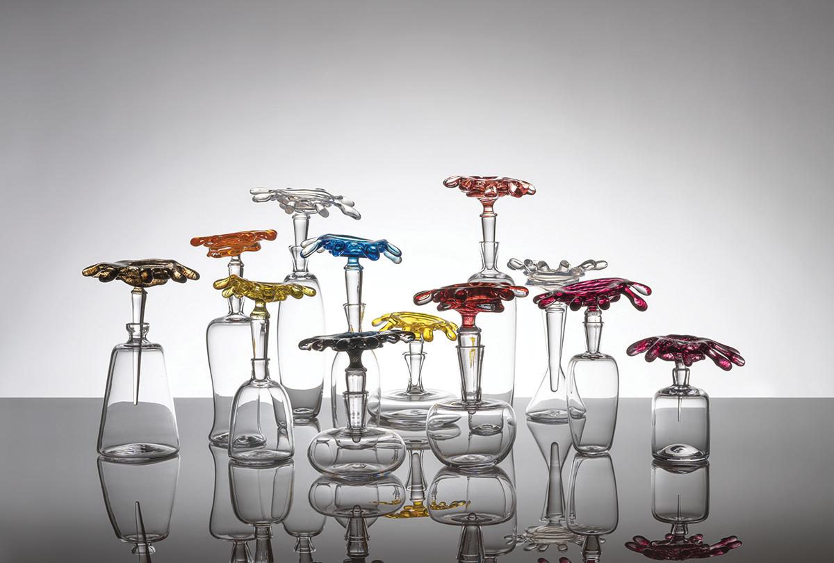 Tomoshibi: Glass Works by Kazuki Takizawa